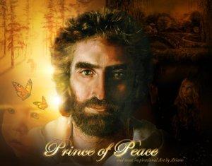 JESUS XRISTON BY AKIANE KRAMARIK