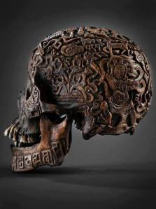 skull tibetan